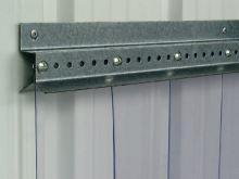 Kovový horní rám na lamelové clony PVC La GÉE 1 m