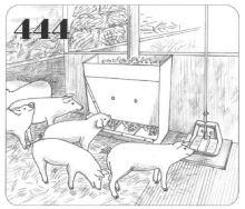 Samokrmítko pro suchý výkrm prasat 60 l