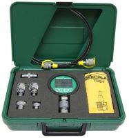 Testovací kufřík s digitálním tlakoměrem