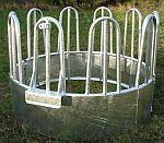 Krmelec kruhový pro koně a dobytek 2-dílný 10 míst průměr 170 cm