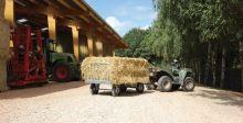 Závěs k připojení vozíků La GÉE za malotraktor