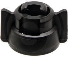 ARAG bajonetová matice černá, univerzální kryt trysky pro většinu trysek na trhu