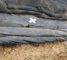 Lepící opravná páska La GÉE na silážní plachty černá šířka 150 mm délka 20 m