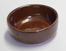 Keramická kameninová miska Mini 250 ml na krmivo pro králíky, psy, kočky, ptactvo