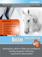 DROMY Biotin Plus concentrate 900 g krmný doplněk na podporu růstu kopytní rohoviny
