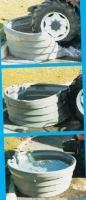 Pastevní napájecí nádrže La GÉE SUPERBAC 450, 650, 1000 a 1500 l oválné pro skot a koně