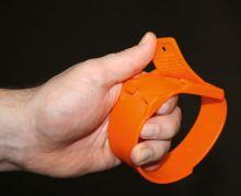 Páska na nohu ze speciálního plastu pro označování zvířat