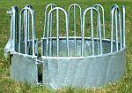 Krmelec na seno kruhový pro koně a skot 3-dílný 9 míst průměr 210 cm příkrmiště na balíky