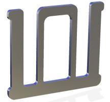 Spojka pro pásku OLLI 20 mm na elektrický ohradník otevřená 5 ks