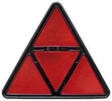 Trojúhelníková čtyřdílná odrazka Hella