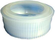 Forma na lisování polotvrdého sýra FB 09 700 g třídílná