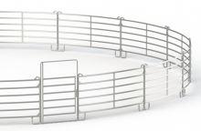 Kruhová mobilní jízdárna pro koně průměr 16 M z obloukových panelů