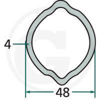 Profilová trubka ke kardanu G6 3 m