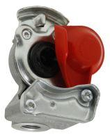 Hlava spojky Wabco pro tažná vozidla červená M16 x 1,5