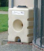 Nádrž na dešťovou vodu La GÉE 500 l béžová Aquastock
