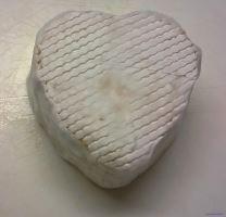 Forma na sýr, tvaroh, máslo srdíčko FA 01 60/80 g
