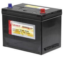 Startovací baterie GRANIT Endurance Line 12V / 70 Ah