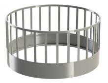 Ovčí krmelec kruhový rovné příčky 28 míst průměr 180 cm