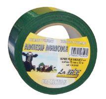 Lepící opravná páska La GÉE na senážní fólie zelená šířka 75 mm délka 20 m