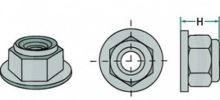 Matice M16 x 1,5 mm k upevnění hřebů rotačních bran Amazone, Kuhn, Lemken
