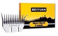 Beiyuan široký spodní nůž na stříhání ovcí krátký úkos pro levoruké střihače