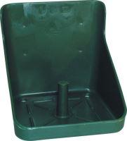 Držák lizu plastový hranatý zelený