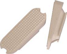 Vložka do třmenů bílá šikmá - pár velikost 12 cm