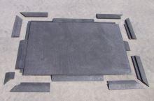 Nájezd vysoký se spodním zámkem 40 x 10 x 4,3 cm pro zátěžové plastové rohože