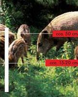 Sada na elektrický ohradník pro prasata 1000 m