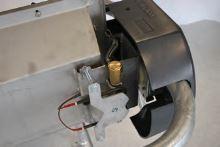 Nerezový napájecí výklopný žlab La GÉE Polynox 155 samostojný vyhřívaný 80W/24V