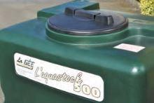 Nádrž na dešťovou vodu La GÉE 1000 l zelená Aquastock