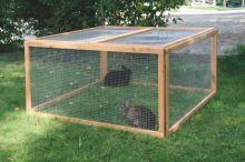 Variabilní výběh pro králíky a morčata