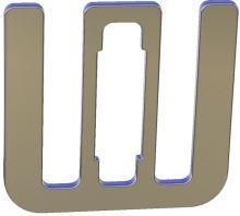 Spojka pro pásku OLLI 10-12 mm na elektrický ohradník 10 ks