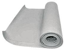Ochranná plachta na lišty řezaček šedá
