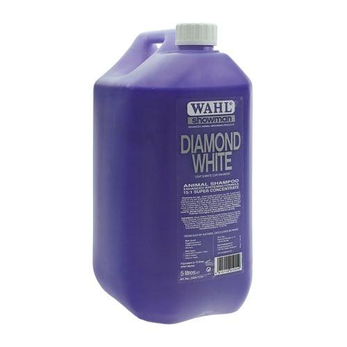 Šampón na psy WAHL Diamond White koncentrát 15:1 s výtažky z okurky, limetky 5 l