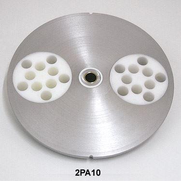 Forma na 10 masové kuličky z mletého masa o průměru 25 mm pro tvarovací stroje Mainca