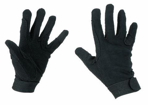 Jezdecké rukavice bavlněné Jersey
