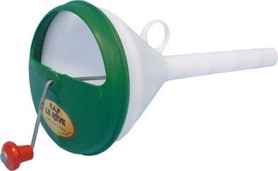 Plastové krmidlo pro husy - trychtýř na výkrm hus