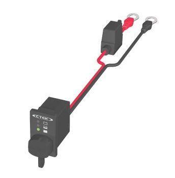 Komfort panel s indikací stavu baterie k nabíječům CTEK
