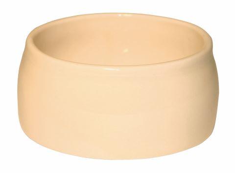 Keramická kameninová miska na krmivo pro králíky, psy, kočky