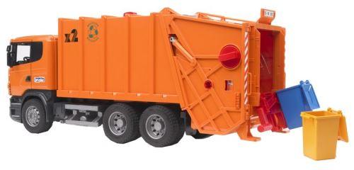Bruder - Scania R popelářský vůz