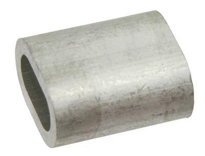 Lisovací svorka hliníková 13 mm pro lesnická lana