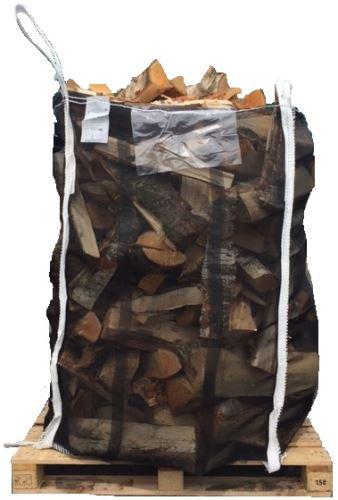 Velkoobjemový vak Big Bag 90 x 95 x 150 cm na dřevní štěpku a dříví rovné dno otevřený