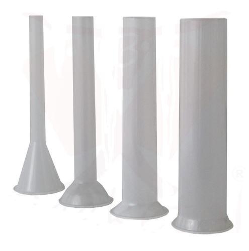 Plastové nástavce na plničky klobás BEEKETAL 4 ks