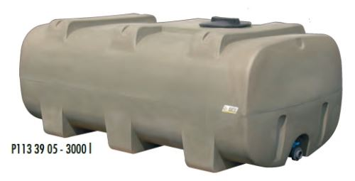Cisterna na vodu plastová stohovatelná La Gée Monobloc 3000 l