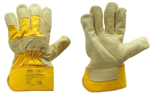 Rukavice z vepřové kůže ELEPHANT velikost 10,5