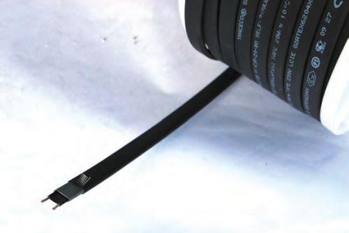 Samoregulační topný kabel na potrubí La GÉE 24V 5, 50 a 100 m