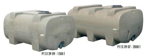 Cisterna na vodu plastová stohovatelná La Gée Monobloc 1500 l