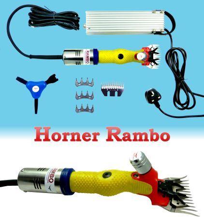 Profesionální stříhací strojek Horner Rambo na ovce a znečištěný dobytek 230V