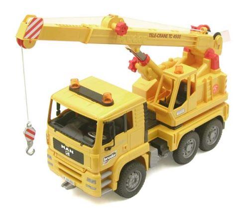 Bruder - autojeřáb MAN Tele-Crane TC 4500